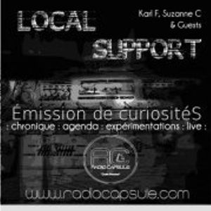 Local Support #14 *Live de Robert de l'espace* 27 06 2012