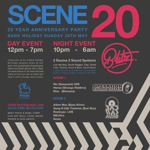 DJ Simm Live @ Scene's 20th Birthday Party (28th May 2017)