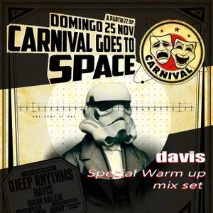 DAVIS @ CLUB CATWALK (Carnival goes to space special warm up) 25-11-12