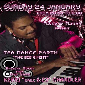 Kerri Chandler @ Tea Dance Party, Vicenza ITA - 24.01.2010