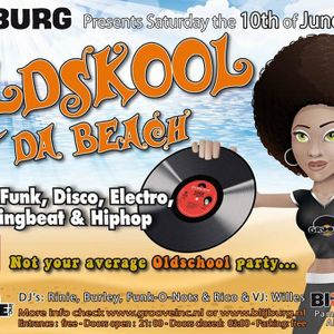 OLDSKOOL @ THA BEACH - 10TH of JUNE 2017 - LIVE BY DB962 - 23:00 - 00:00h