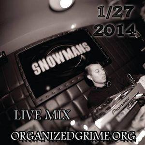Organized Grime closing DnB set 01/27/14