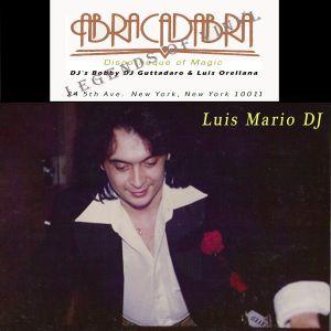Luis Mario DJ  at Abracadabra New York Live Set  1978