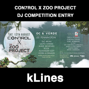 Con7rol x The Zoo Project Ibiza - DJ Competition Entry