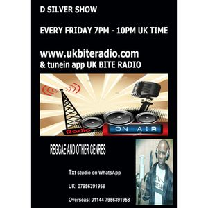 D Silver Show Live from Grenada on UK Bite Radio 23 Sep 2016