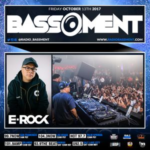 The Bassment w/ DJ E-Rock 10.13.17 (Hour One)