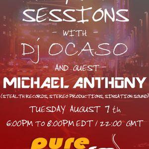 Dj Ocaso - Night Rhythm Sessions 025 [August 07 2012] Part 1 on Pure.FM