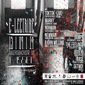 Norman @ Club e-lectribe Kassel - 13.09.2014 - Part 2