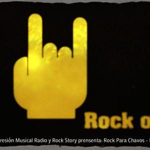 """Iván Queipo transmite por Expresión Musical Radio y Rock Story - Programa """"ROCK PARA CHAVOS""""-"""