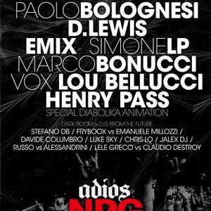...:::CHRIS LO dj set ADIOS NRG CLOSING PARTY 21- 5- 2011 dark room