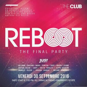 REBOOT - THE CLUB CLOSING PARTY