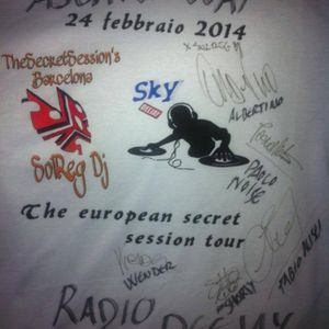 The Secret Session´s intro SkyDj Birthday´s Route 22 ( Dronero , Piemonte ,Italy ) by SolReg Dj