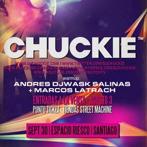 djwask warmup to Chuckie in Chile Sept 30, 2011_part 1