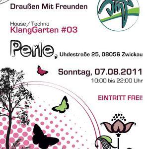 07.08.11 | Peter Miese @ KlangGarten #03 | Perle, Zwickau