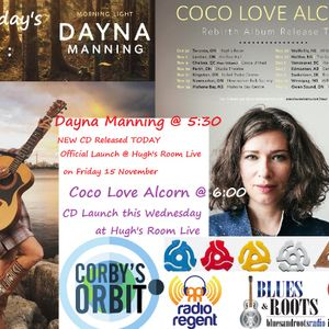 Corby's Orbit Podcast for 25 October 2019 with Dayna Manning and Coco Love Alcorn