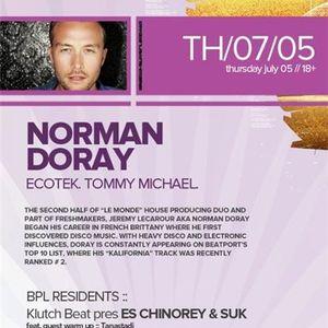 Norman Doray - Live @ Beta Nightclub Denver (USA) 2012.07.05.