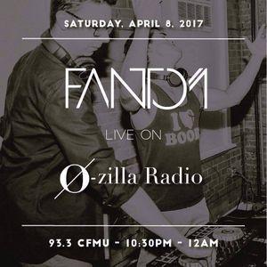 Fantom Guest Mix @ O-Zilla Radio 93.3FM