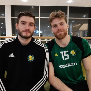 Interview with Agust Eli Björgvinsson and William Bogojevic (IK Sävehof)