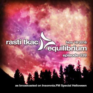 Equilibrium 039 [18 Nov 2016]