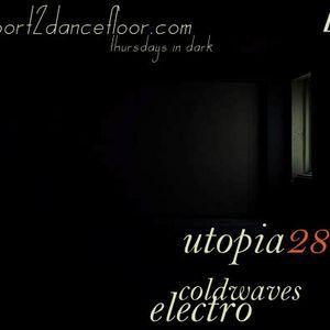 Utopia28 In Noir On Report2Dancefloor Radio