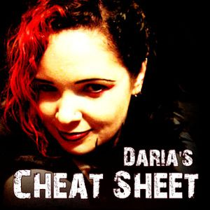 Daria's Cheat Sheet 20110525