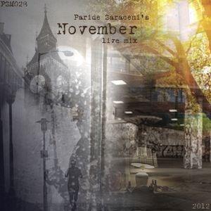 PSM028 - Paride Saraceni - November Mix 2012