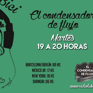 El Condensador de Flujo 14 - 07 - 15 en Radio La Bici