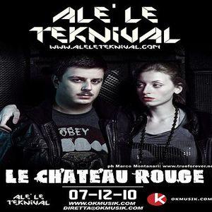Alè Le Teknival 07.12.2010 - LE CHATEAU ROUGE