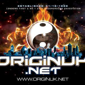 Miss Velocity - Live radio mix on OriginUK.net 13/07/12