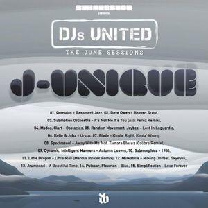 J-Unique @ SUBMISSION presents DJS UNITED the June Sessions