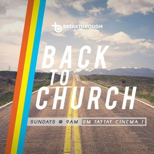 Back to Church 2016 / Vision and Promotion