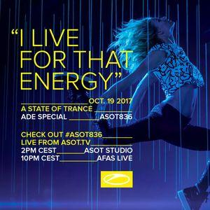 Cosmic Gate Live @ ASOT ADE (19-10-2017)