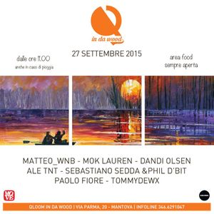 Phil d'bit & Sebastiano Sedda @ QLOOM in da wood - 27 settembre 2015