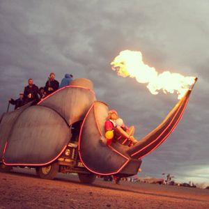Afrikaburn 2016 -  Clouds of Fire