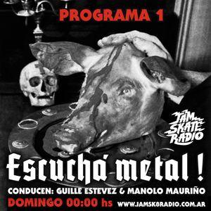 Escucha Metal Programa 1 2016