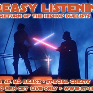 Greasy Listening 04.01.2018 Return of the Hiphop Duelists ft. Justin X & MrBeakz