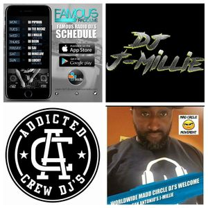 Tune in every Wednesday at 5pm on the Famous Radio Live App and catch my No Playlist Mix...