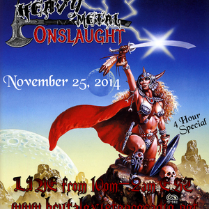 Merciless Onslaught - November 25, 2014 (Heavy Metal Onslaught special)