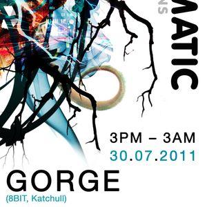 Gorge July mix for Rhythmatic