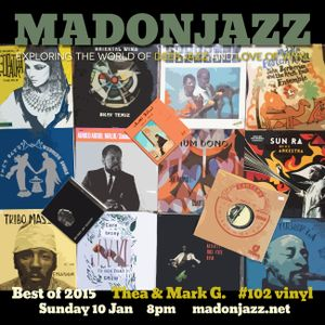 MADONJAZZ #102 - BEST MOMENTS OF 2015
