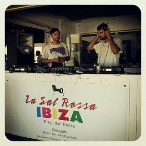 Darius Syrossian & Livio & Roby @ Back To Basics- Hotel Bahamas Beach Ibiza 05-07-2012