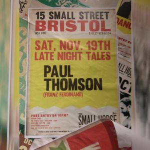 Paul Thomson (Franz Ferdinand) DJ Set