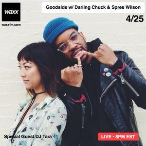 Goodside w/ Darling Chuck & Spree Wilson + DJ Tara on @WAXXFM (04.25.17)