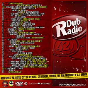 DJ R DUB L Present's DUB RADIO 42 [For Promotional Use Only]