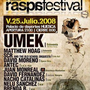 Nacho Catalinas@RaspaFestival 3ªEdicion 2008