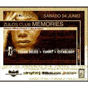 Frann Delice @ Cultura Club (Zulos Club Memories)04/06/2011
