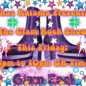 The June Glam Rock Show - Summer Special - 16th June 2017