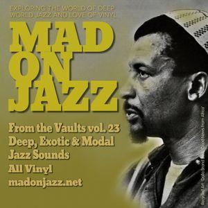 MADONJAZZ From the Vaults vol 23: Deep, Exotic & Modal Jazz Sounds