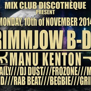 Rab beat - Grimmjow bday @ Mix Club 11.2014