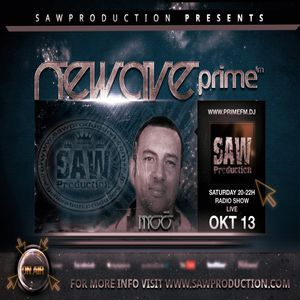 Sawproduction - NeWave: Moó aka. Leslie Moor Live on Prime FM (13-10-2012)